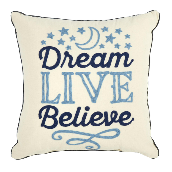 Dream ~ Live ~ Believe Pillow