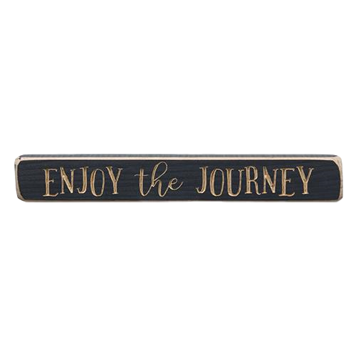 Enjoy the Journey Engraved 12