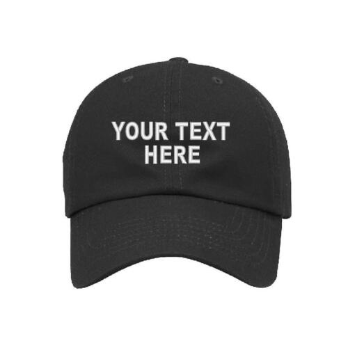 Custom Personalized Ball Cap