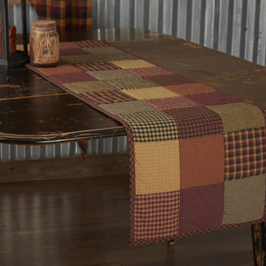"Heritage Farms Quilted 48"" Runner"