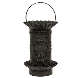 Kettle Black Punched Star Wax Melter