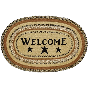 Kettle Grove Jute Welcome Rug