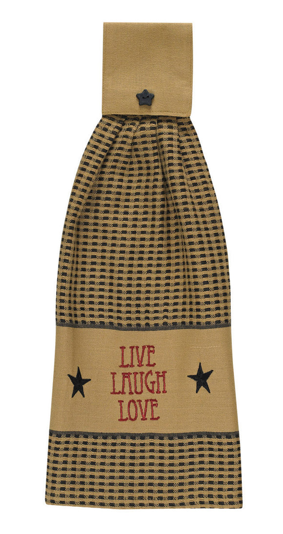 Live Love Laugh Hand Towel