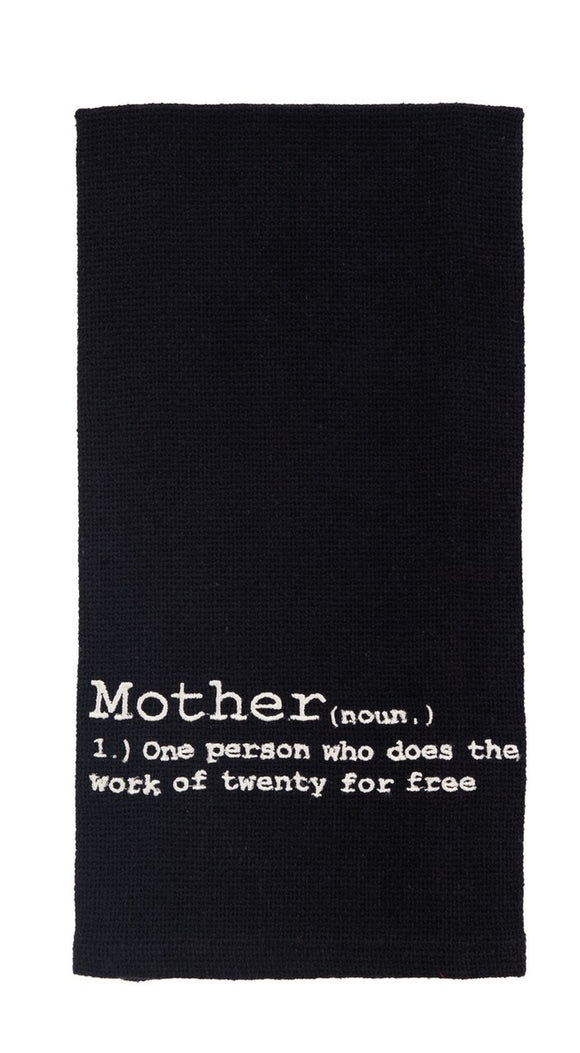 Mother Definition Dish Towel