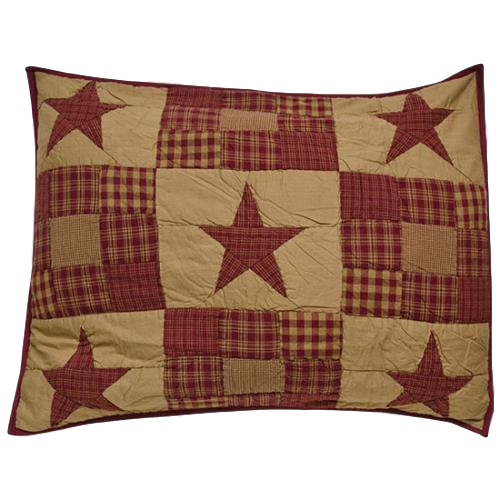 Ninepatch Star Standard Pillow Sham