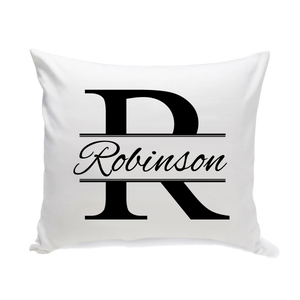 Personalized Throw Pillow