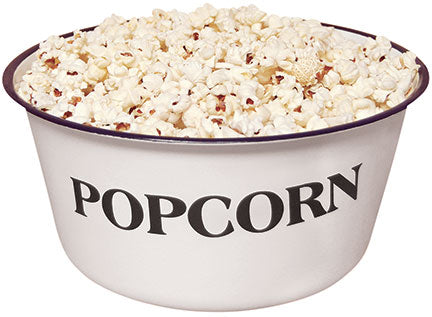 Popcorn Enamelware Farmhouse Bowl