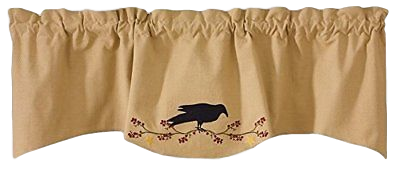 Primitive Crow Lined Wave Valance