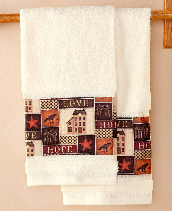 Primitive Farmhouse Towel