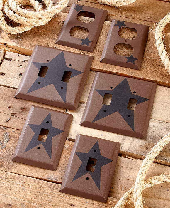 Primitive Star Switch and Outlet Covers