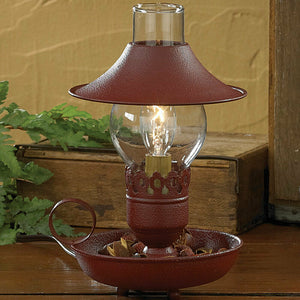Chamberstick Lamp With Shade From Park Designs