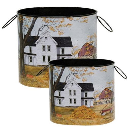Remember When Buckets Set of 2 - Billy Jacobs