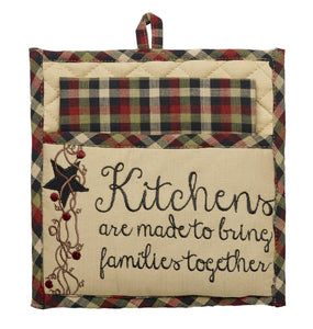Tangled Berries Potholder and Dishtowel Set