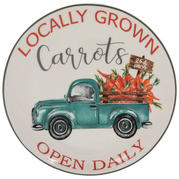 Vintage Truck Plate Carrots For Sale