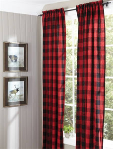 Buffalo Check Lined Panel Pair