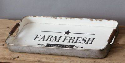 Farm Fresh Vintage Tray