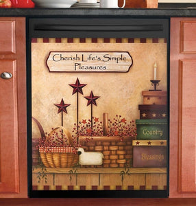 Country Farmhouse Dishwasher Magnet