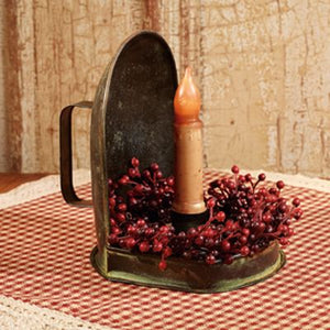 Rustic Farmhouse Sconce Candle Holder