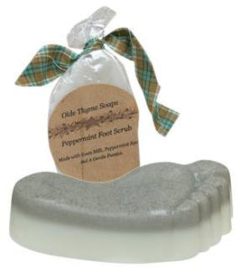 Olde Thyme Soap - Peppermint Foot Scrub