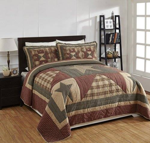 Plymouth King 3 Pc Quilt Set