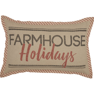 "Sawyer Mill Farmhouse Holiday 14"" x 22"" Pillow"
