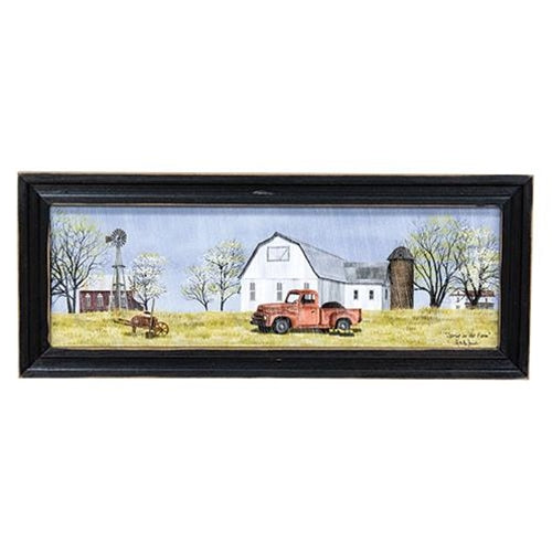 Spring On The Farm Print by Billy Jacobs