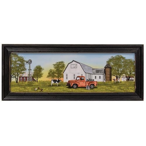 Summer On The Farm Framed Print By Billy Jacobs
