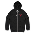 Twice the Vision zip up hoodie