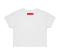 Women's crop top tee