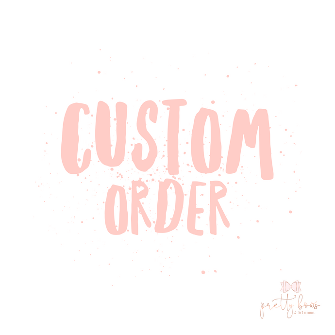 Custom order for tomypsyd