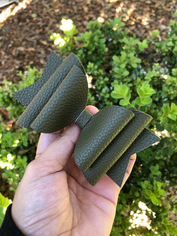 Large olive textured