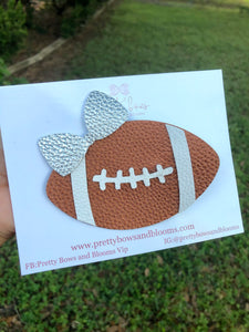 Football clip bow