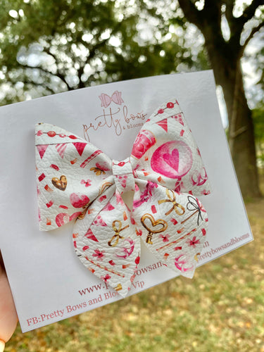 Galentines party sailor bow