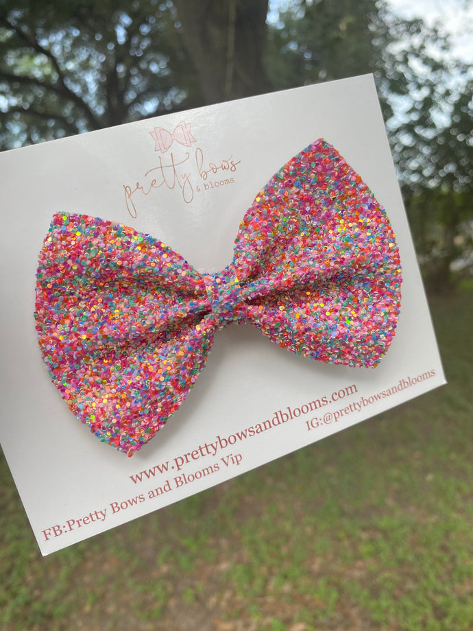 Candy land pinch bow