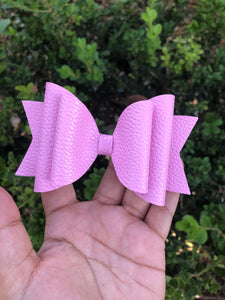 Large pinkk textured