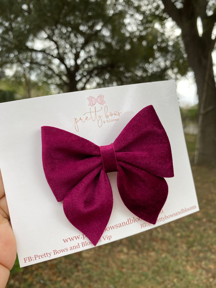 My valentine sailor bow