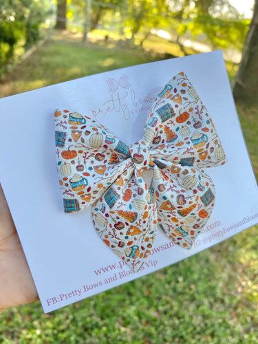Surprise bow!! All things fall