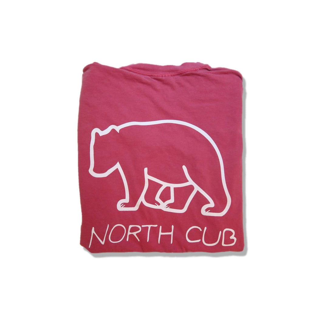 Crimson Short Sleeve Tee | North Cub - Comfy Clothes with a Purpose