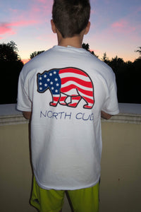 Patriotic Short Sleeve Tee | North Cub - Comfy Clothes with a Purpose
