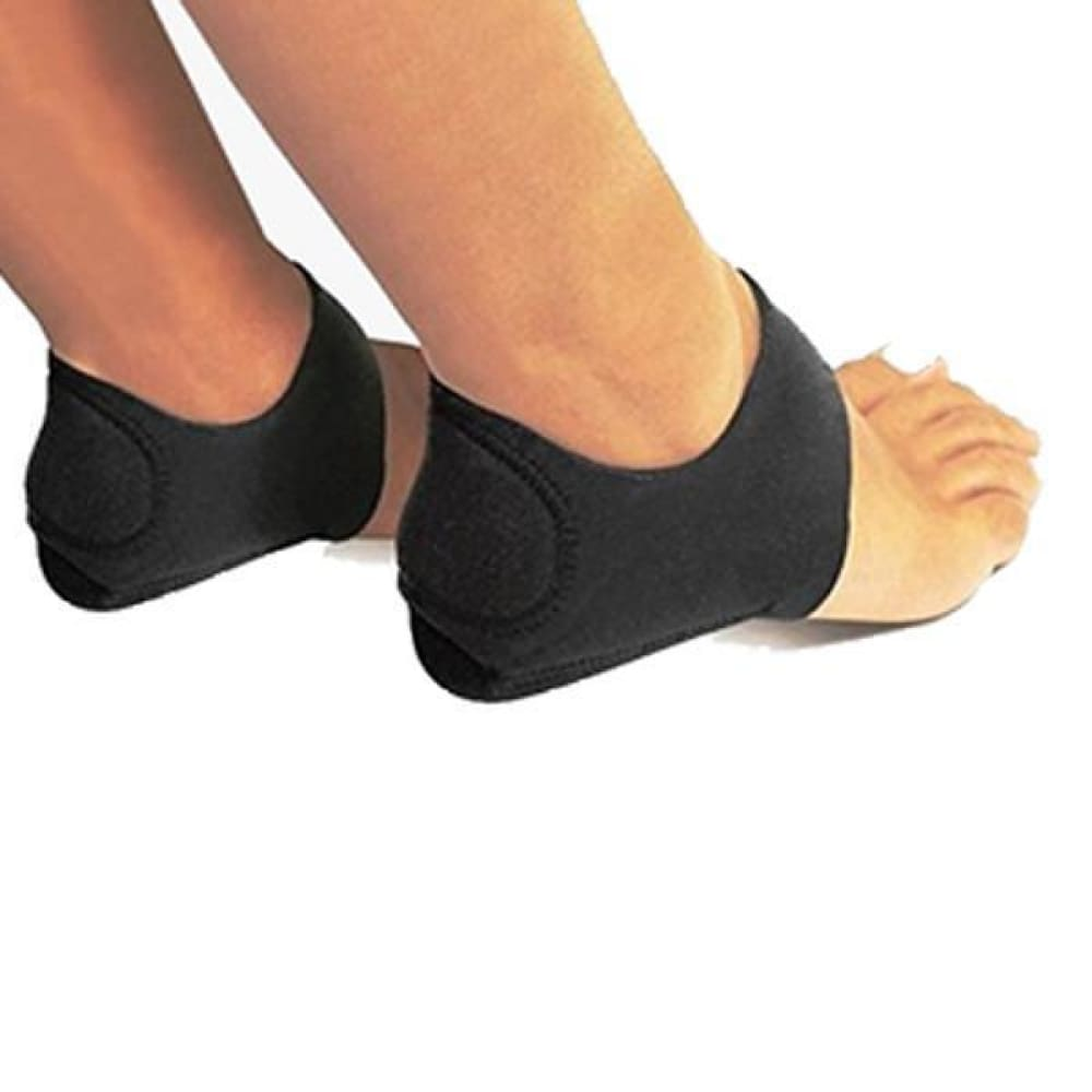 2 Pack: Foot Shock-Absorbing Plantar Fasciitis Therapy Wraps Custom Made 2018