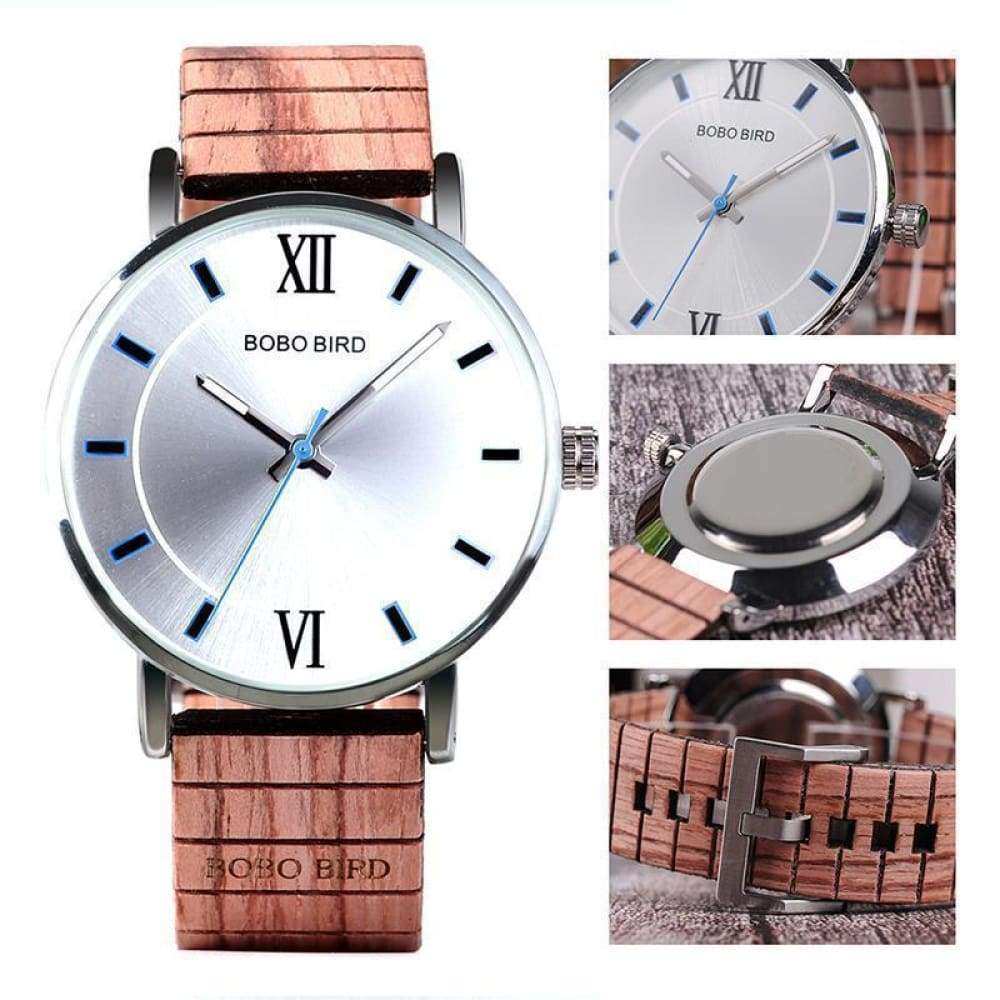 BOBO BIRD New Design Wood Band Watches Timepieces Custom Made 2018