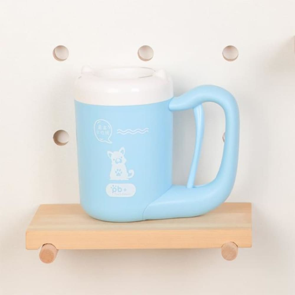 Dog Paw Cleaning Mug Custom Made 2019