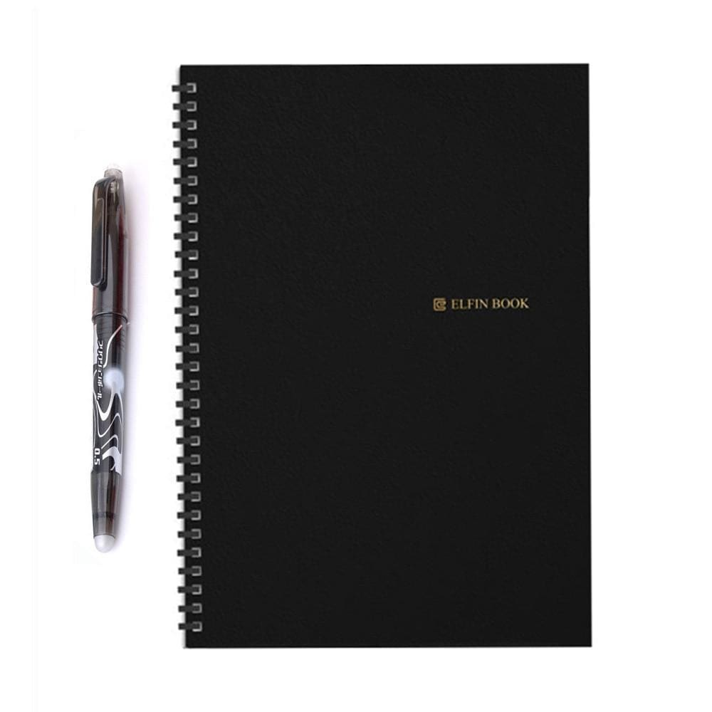 Elfinbook 2.0 - Smart Reusable Notebook + 1x Pilot Pen Custom Made 2019