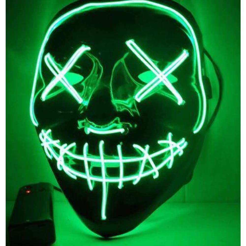 Halloween Led mask purge Custom Made 2018