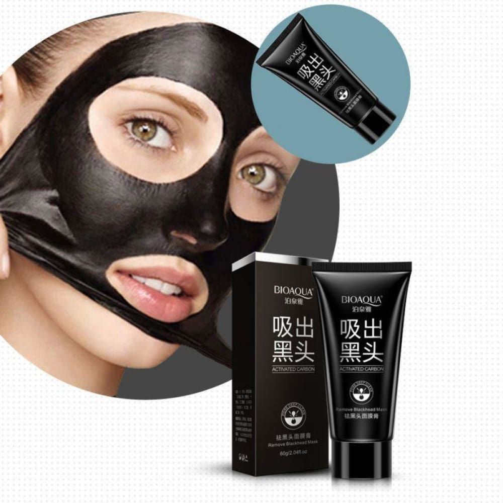 New Black Mask Facial Mask Nose Blackhead Remover Peeling Custom Made 2018