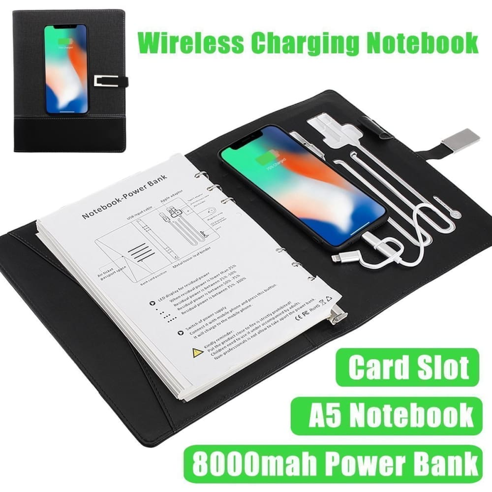 Wireless Charging Notebook Custom Made 2018