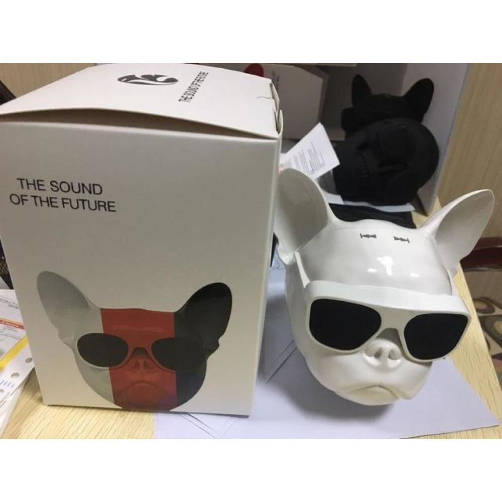Wireless Speaker Bulldog Bluetooth Speaker Outdoor Portable Bass Speaker Touch Control Custom Made 2018