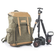 Load image into Gallery viewer, M-02 Canvas Camera Backpack