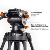 Tarion Pro TRP-C01 Tripod with TRP-FH01 Fluid Head