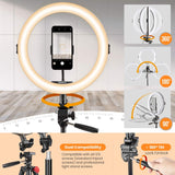 Tarion R-11 Ring Light with Tripod
